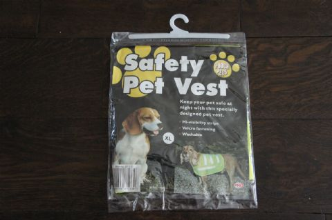 DOG COAT HI VISIBILTY DOG SAFETY VEST COAT - SPEACIAL OFFER